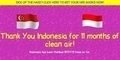 Sindir Asap, Netizen Singapura Bikin Situs 'Terima Kasih Indonesia'