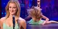 Tampil Live di TV, Penari Cantik Patahkan Hidungnya