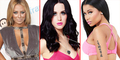 5 Penyanyi Hollywood Yang Memiliki Payudara Seksi