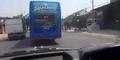 Aksi Serobot Sopir Bus Ngawur di Indonesia Go Internasional!