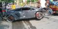 Balapan Liar Lamborghini Seruduk Warung STMJ, 1 Orang Tewas