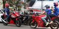 Buruh Demo di Bekasi Naik Motor Ninja Rp 50 Juta: 'Ah Biasa Aja'