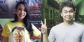 Elvira Devinamira Ciuman dengan Raditya Dika di Film Single