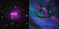 Foto Mengagumkan Pola Galaksi Mirip Wajah Kucing