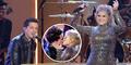 Heboh Meghan Trainor-Charlie Ciuman Hot di Panggung AMAs 2015