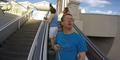 Ingin Pamer Pemandangan, Pria Ini Malah Arahkan GoPro ke Wajahnya