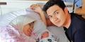 Istri Aldi Taher Melahirkan Bayi Perempuan Bernama Geraldine
