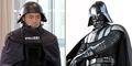 Keren, Polisi Jerman Pakai Kostum Ala Darth Vader