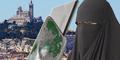 Muslimah Paris Bercadar Disayat Cutter Bermotif Kebencian