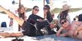 Raline Shah Liburan Bareng Seungri Big Bang ke Pantai Padang Padang