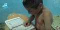 Seorang Anak Baca Alquran Dengan Tubuh Berdarah Jadi Viral Di Sosmed