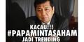 Sindir Kasus Ketua DPR, #PapaMintaSaham Jadi Trending Topic