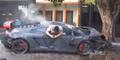 Usai Tewaskan Warga, Sopir Lamborghini Telepon Mamanya