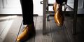 Wanita Lebih Tertarik Pada Pria Yang Memakai Sepatu Bersih