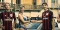 AC Milan Tangkap Pencuri Bareng Model Seksi di Iklan Toyo Tires