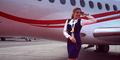 Anastasia Babushkina, Pramugari Cantik dan Terbaik di Rusia