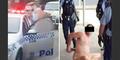 Sinting! Pria Bugil Ngaku Yesus Pukuli Polisi Ditangkap