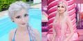 Tanpa Operasi, Andressa Damiani Punya Tubuh & Wajah Mirip Barbie