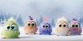 Video Lucu & Menggemaskan Bayi Angry Birds Ucapkan Selamat Liburan