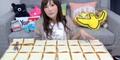 Waduh, Wanita Cantik Ini Makan 100 Lembar Roti Sekaligus