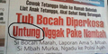 12 Judul Koran Super Bombastis Bikin Ketawa Ngakak