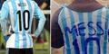 Cerita Menyentuh Bocah Korban Perang Pakai Jersey Keresek 'Messi'