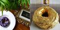 Golden Cristal Ube Doughnut, Donat Lapis Emas Di Filipina
