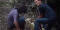 Ingin Tenar, Pemuda Alay Cekikikan Rusak Bunga Bangkai Langka