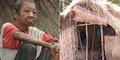 Penderitaan Kakek di Bali Hidup Sendiri di Gubuk Ranting Kering