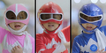 Video Aksi 3 Power Rangers Cilik Basmi Monster Di Mal