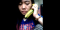 Video: Kocak! TKW Telepon Suami Pakai Pisang