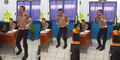 Video Polisi Berkumis Goyang Cantik Sambalado Bikin Heboh