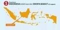Bukti Luasnya Indonesia yang Patut Kita Banggakan