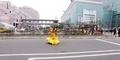 Goku Dragon Ball Terbang Pakai 'Awan Kinton' di Taipe