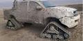 ISIS Modif Mobil Toyota Rampasan Jadi Tank Perang