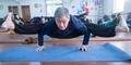 Kakek Tangguh, Usia 72 Masih Mampu Mengajar Yoga