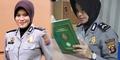 Polwan Cantik Briptu Wira Agustina Rajin Baca Al-Quran