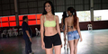 Potret Kandidat Ratu Kecantikan Filipina Saat Berlatih