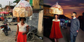 Tak Sengaja Terpotret, Wanita Penjual Roti Jadi Model Terkenal