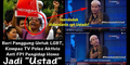 Tampilkan Aktivis Gay Dandan Ala Ustaz, Kompas TV Dituduh Pro LGBT