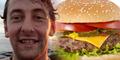 Telan Burger Utuh Tanpa Dikunyah, Bray Tewas Tersedak