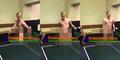 Unik, Pria Ini Main Ping Pong Pakai Mr. P!