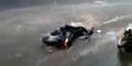 Video Arus Banjir Tawangmangu Sampai Hanyutkan Motor