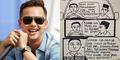 Andhika Pratama Sindir Demo Sopir Taksi di Jakarta Lewat Meme