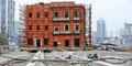 China Geser Gedung Bersejarah 90 Meter dengan Rel Beton