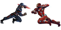 Foto: 11 Character Art Superhero di Captain America: Civil War