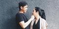 Foto Ayudia Bing Slamet & Ditto Ciuman Mesra di Bali