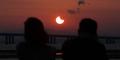 Foto Indah Gerhana Matahari Total di Berbagai Wilayah