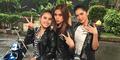 Foto Kocak Ayu Ting Ting, Angel Karamoy, & Jessica Iskandar Jadi Cabe-Cabean