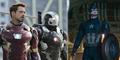 Foto Tim Iron Man VS Tim Captain America di Civil War